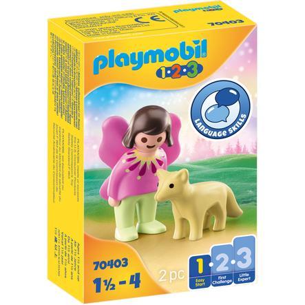 PLAYMOBIL® 1 2 3 Eventyrvenn med rev