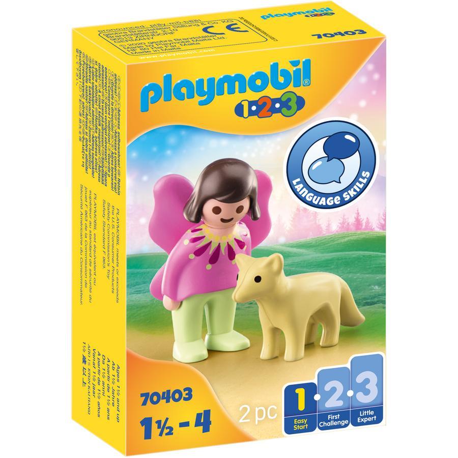 PLAYMOBIL ® 1 2 3 Fairy vän med räv