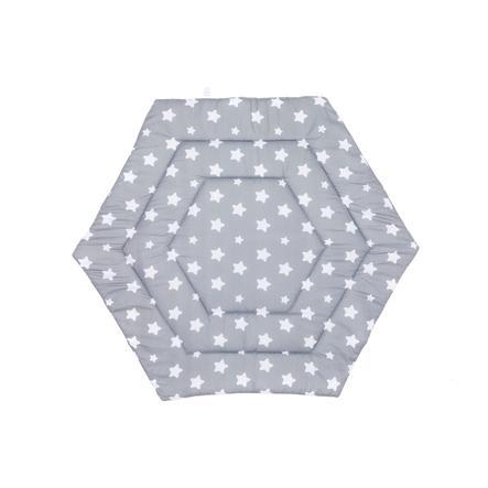 fillikid kravelgård 6-kantet stjerner grå