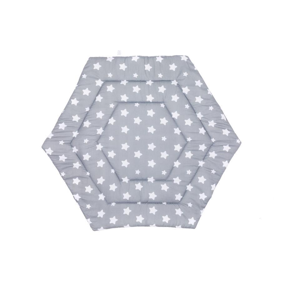 fillikid Lekegodsforing 6-hjørnet stjerner grå