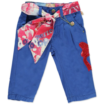 PEZZO D`ORO Girls Mini Chinohose blue