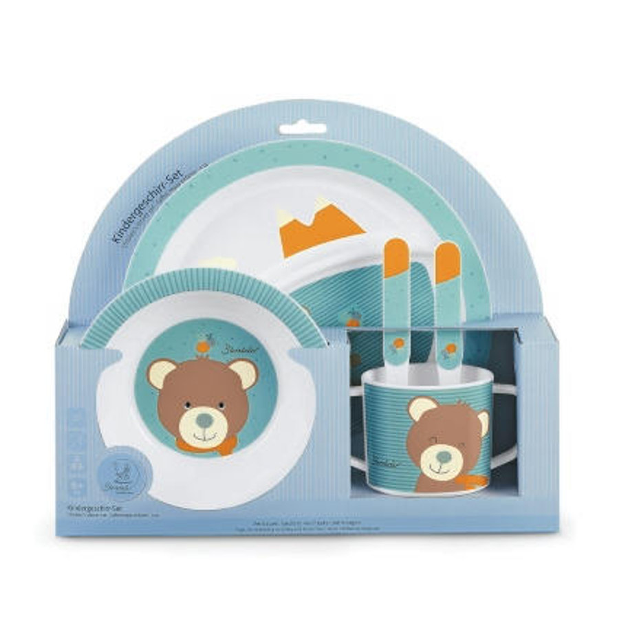 Sterntaler Children's tableware set Ben