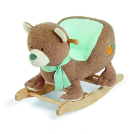 Sterntaler Animal à bascule Ben l'ours bois
