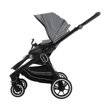 Emmaljunga Kinderwagen NXT60 Flat Black/Lounge Grey