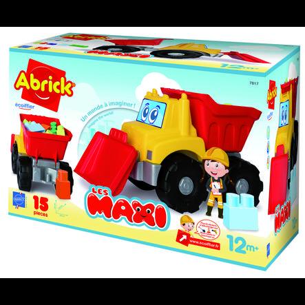 ecoiffier Maxi Abrick byggeplads køretøj