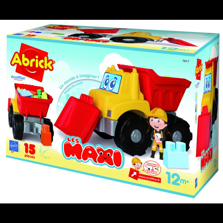 ecoiffier Maxi Abrick Baustellenfahrzeug