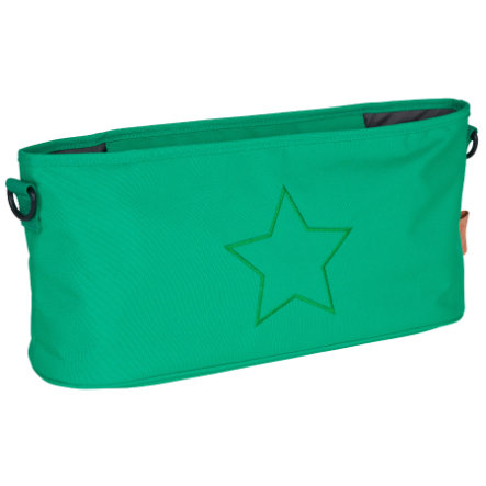 LÄSSIG Organizer do wózków spacerowych Star Deep Green