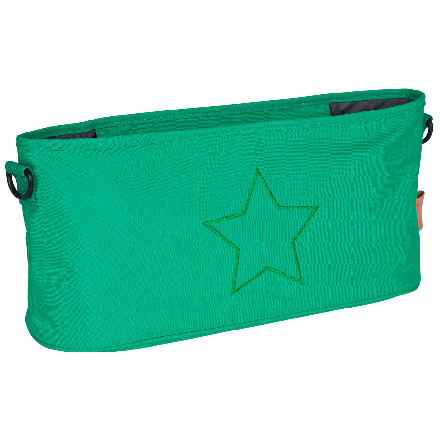 LÄSSIG Buggy Organizer Star Deep Green