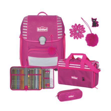 Scout Genius-Set 4tlg. Funny Snaps Pretty Pink