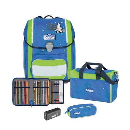 Scout Genius Exclusive Set 4st. Säkerhet ljusblått utrymme