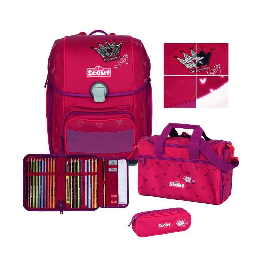 Scout Genius Exklusiv Set 4tlg.  Premium  Red Princess