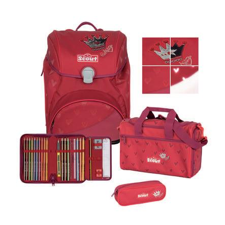 Scout Alpha Exklusiv Set 4tlg. Premium - Red Princess