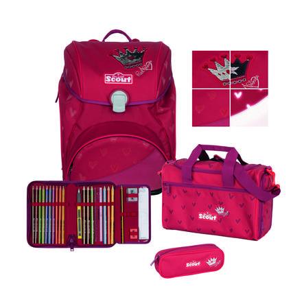 Scout Alpha Set exclusif 4 pièces Premium - Rouge Prince ss
