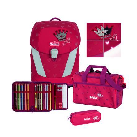 Scout Sunny II Exkluzivní sada Premium Red Princess 4 ks