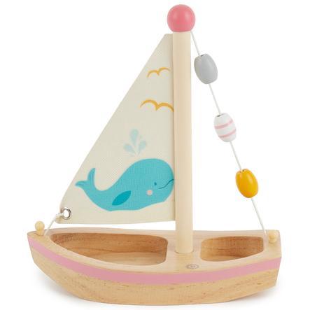 bieco Großes Holzsegelschiff