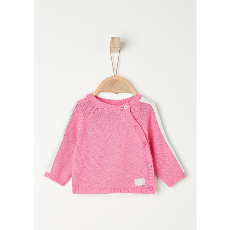 s. Oliver Girls pletený svetr fialový / růžový