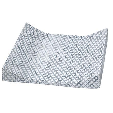 Alvi® Wickelauflage 2stg. Keil Folie Mosaik 60 x 68 cm