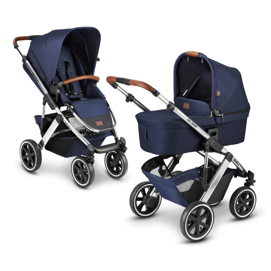 ABC DESIGN Kinderwagen Salsa 4 Air Navy Diamond Edition Collectie 2021