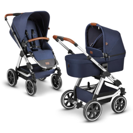 ABC DESIGN  Carro de bebé Viper 4 Navy Diamond Edition 2021