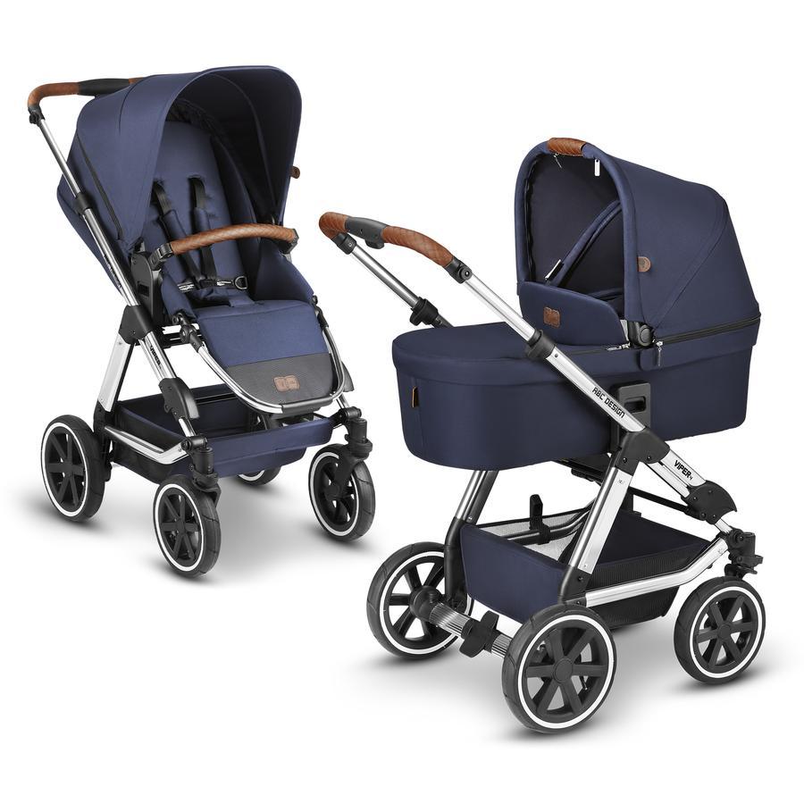 ABC DESIGN  Kinderwagen Viper 4 Navy Diamond Edition Collectie 2021
