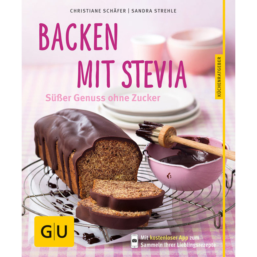 GU, Backen mit Stevia