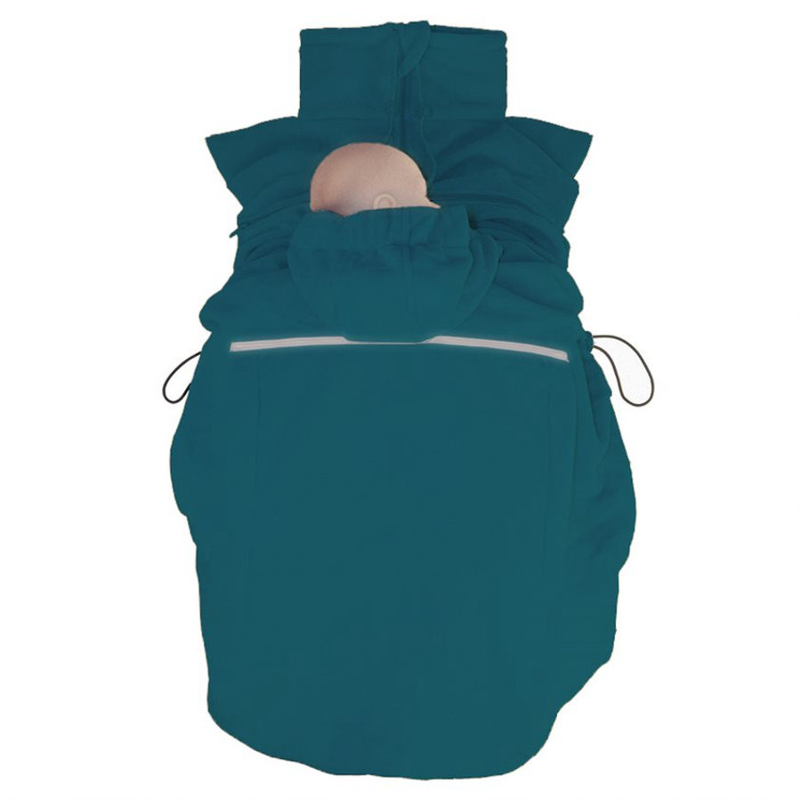 Hoppediz Fleece Cover Basic Petrol