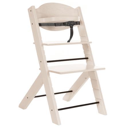 Treppy® Høy stol treaktig snøhvit