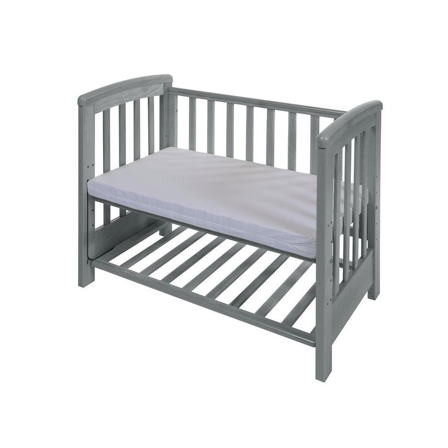 Treppy® Beistellbett Dreamy Mini wood gray 50 x 85 cm