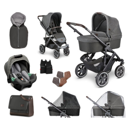 ABC DESIGN Combi barnvagn Salsa 4 Air - Starter Set 9 stycken Cornet Fashion Edition