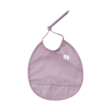 CeLaVi Babero redondo de color púrpura claro