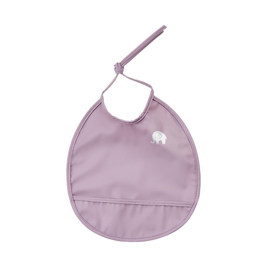 CeLaVi Bavoir enfant à nouer rond violet clair