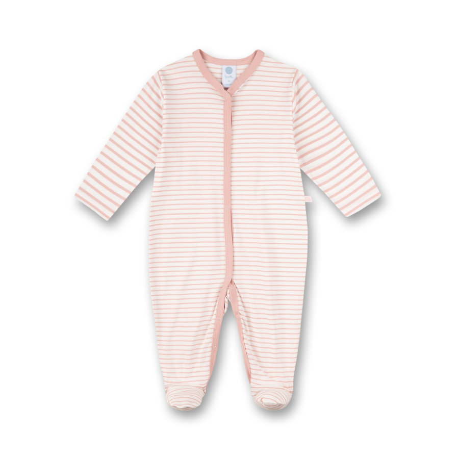 Sanetta Overall silver pink stribet