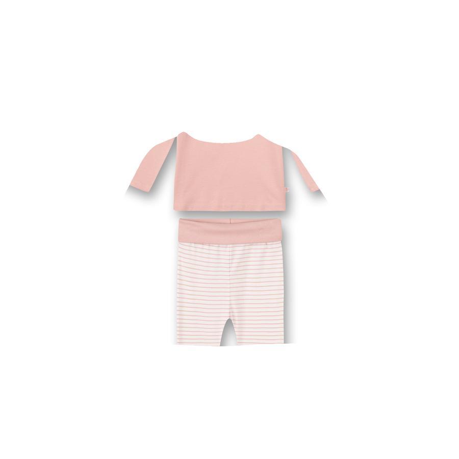 Sanetta Schlafanzug silver pink