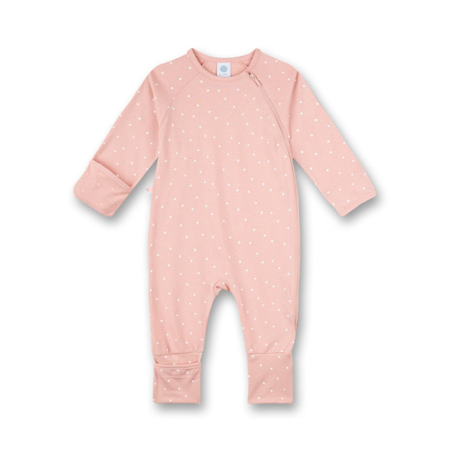 Sanetta Overall silver pink