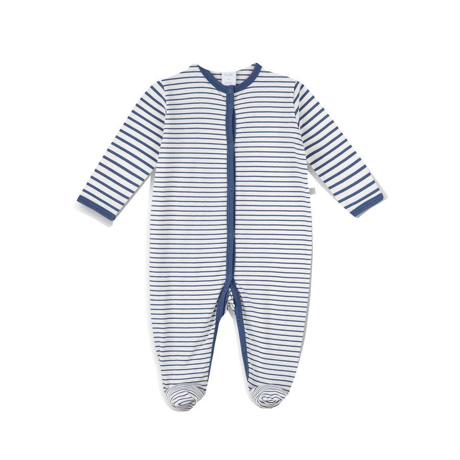 Sanetta Blekkfarge blå stripete