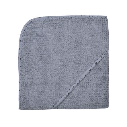 WÖRNER SÜDFROTTIER Hemma badhandduk med huva mörkgrå 80 x 80 cm