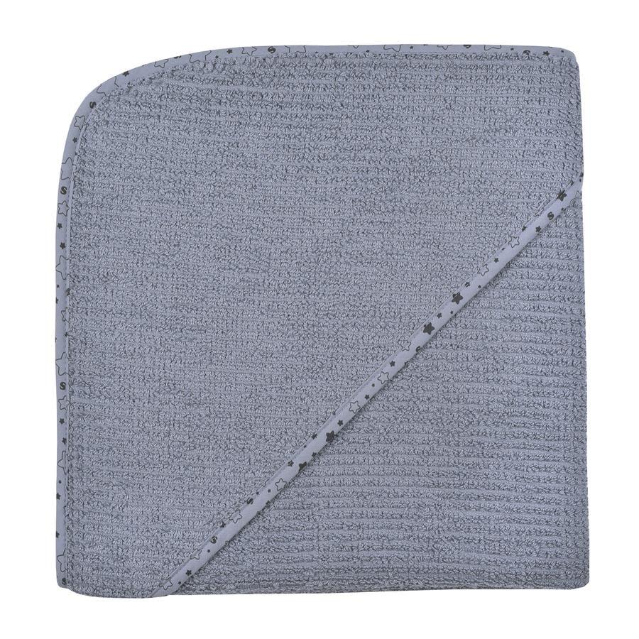 WÖRNER SÜDFROTTIER A casa asciugamano da bagno con cappuccio grigio scuro 100 x 100 cm