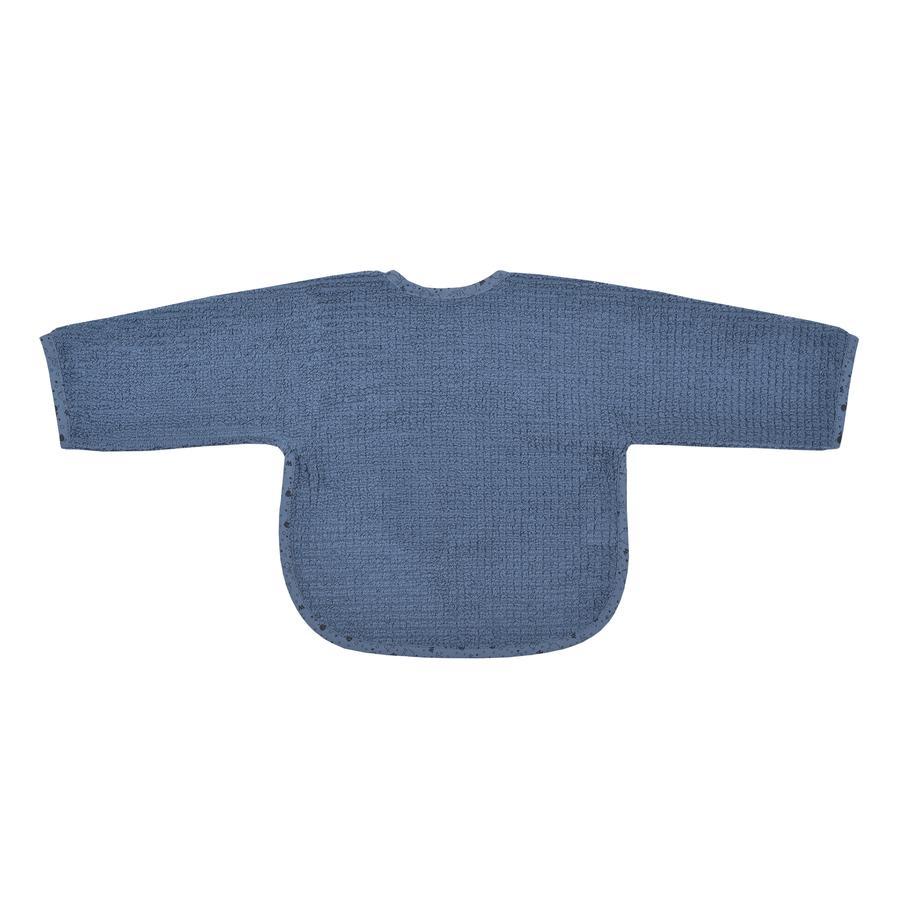 WÖRNER SÜDFROTTIER Babero de manga en casa con botón de presión azul oscuro