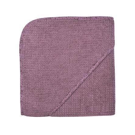 WÖRNER SÜDFROTTIER At home hettehåndkle med hette lilla 80 x 80 cm