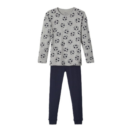 Name it pyjamas 2-delt NKM NIGHT SET Grå melange