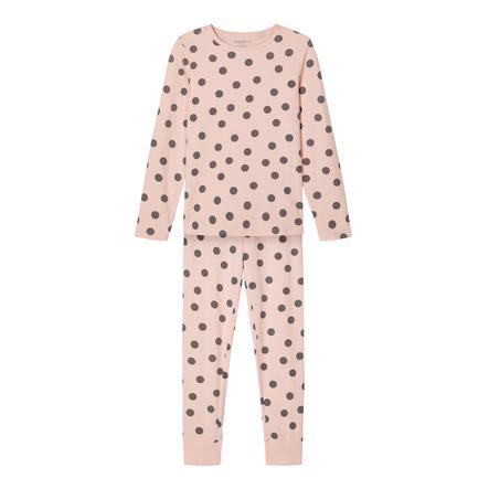 Name it Pyjama 2-osainen NKF NIGHT SET mansikkavoide