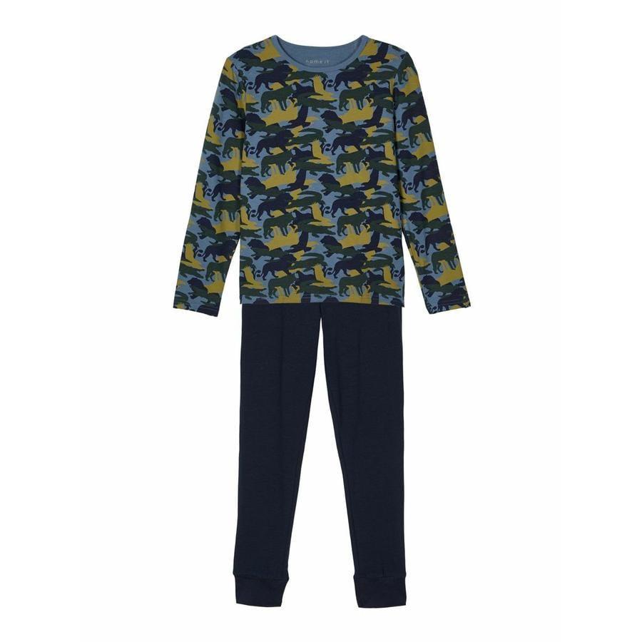name it Pyjamas 2-delt NKM NATTSET China Blue
