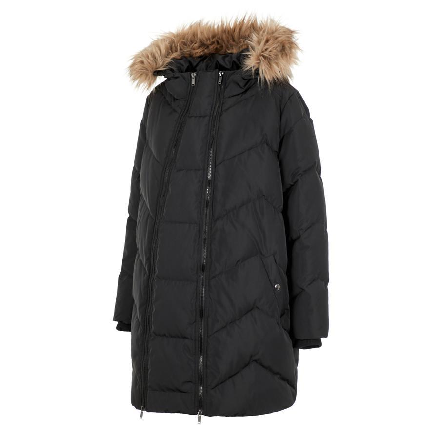 manteau de maternité 2 en 1 rembourré MLSICILIA black