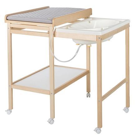 roba Bade-Wickel-Kombination Baby Pool inkl. Wickelauflage ausziehbar