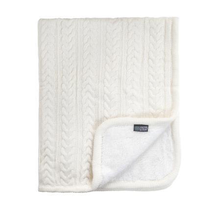 VINTER & BLOOM Snuggly teppe Cuddly Ivory