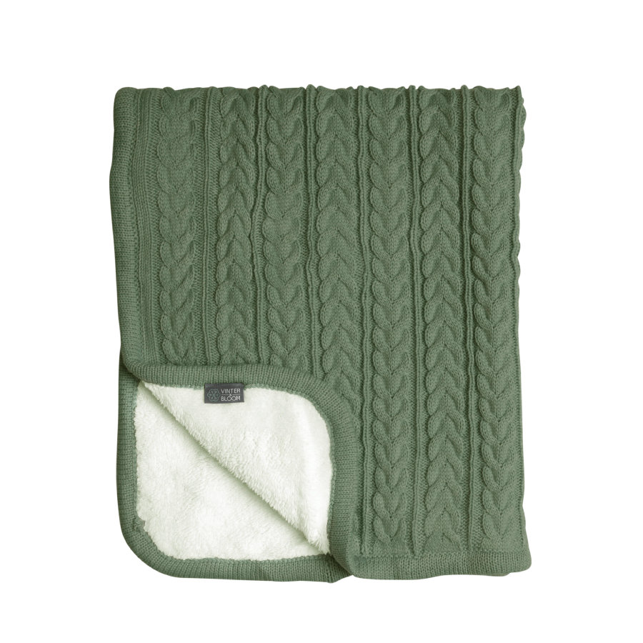 VINTER & BLOOM Snuggly huopa Cuddly Forest Green