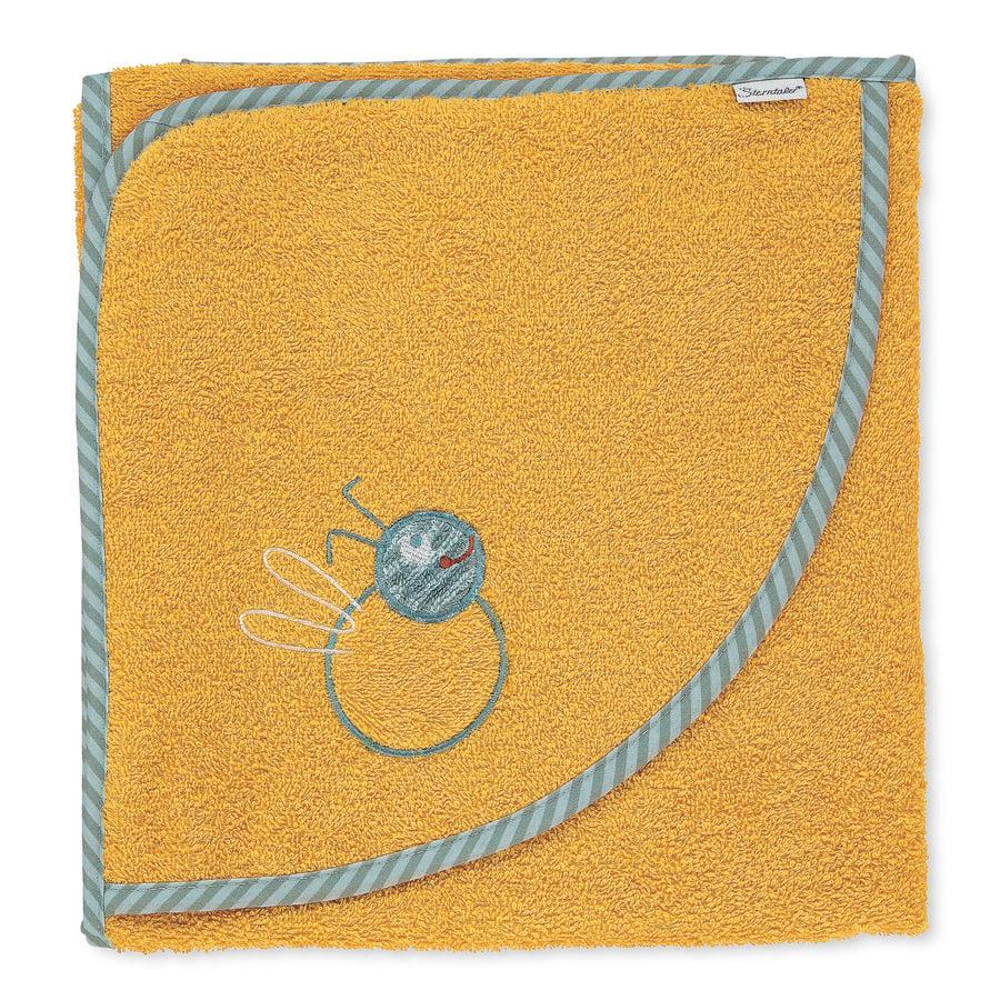 Sterntaler Kapuzenbadetuch Ben gelb 100 x 100 cm