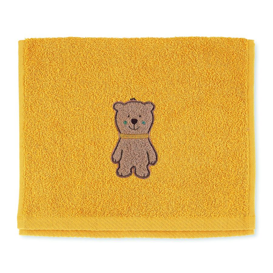 Sterntaler Barnehåndkle Ben gul 50 x 30 cm