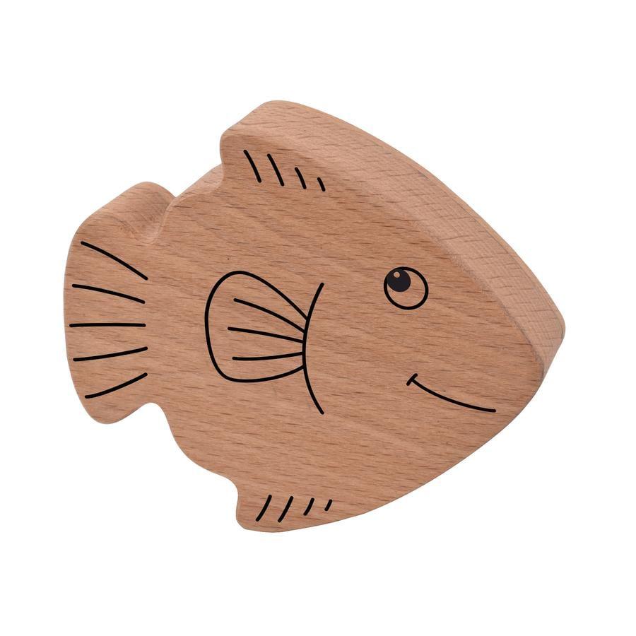 Voggenreiter Holzrassel Fisch braun