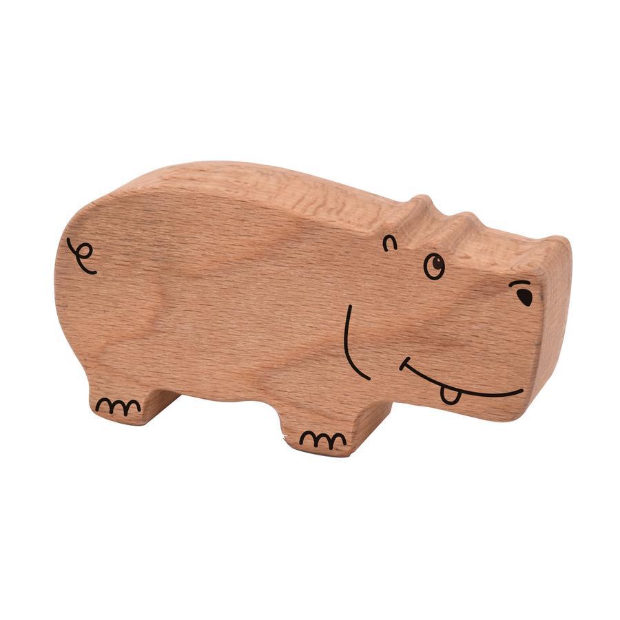 Voggenreiter Holzrassel Hippo braun